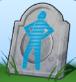Todesart Futuristisches Urnenhologramm