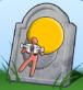 Grabstein Vom Himmel gefallen