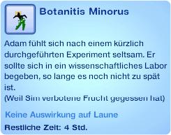 Moodlet Botanitis Minorus