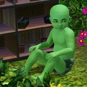 Pflanzensim-Baby