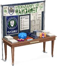 Servicestand für Studenten