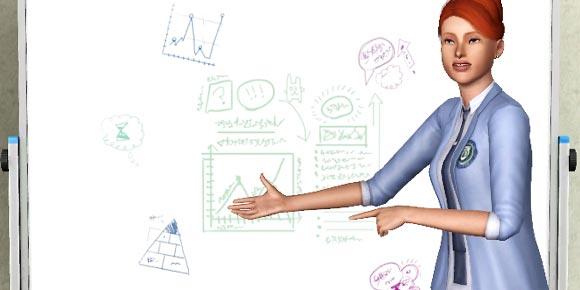 Präsentationen am Whiteboard halten