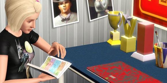 Sims 3 - Comics lesen