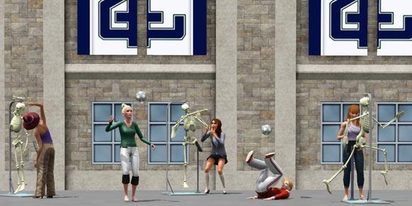 Sims 3 Sport-Studium - Sport-Kurs