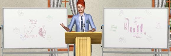 Sims 3 Studium der Wirtschaft - Wirtschaftsplaner