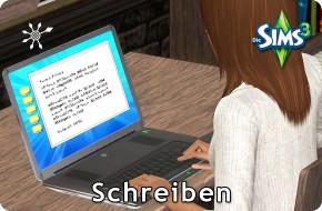 Die Sims 3 Fähigkeit Schreiben