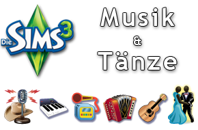 Die Sims 3 Musik und Tnze