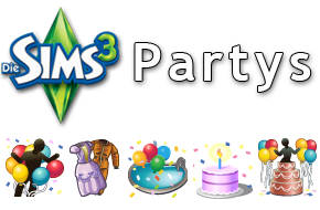 Die Sims 3 Partys