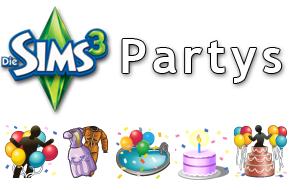 Die Sims 3 Partys