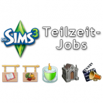 Die Sims 3 Teilzeit-Jobs