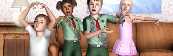 Sims 3 – Außerschulische Aktivitäten