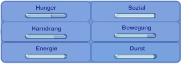Die Sims 3 Einhorn - Bedürfnisse