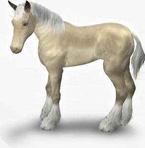 Sims 3 Einhorn-Fohlen