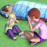 Kuckuck mit kleinen Geschwistern spielen
