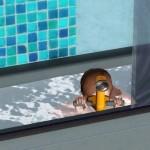 Kind in Wanne - U-Boot-Abenteuer bestreiten