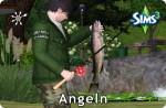Die Sims 3 Fähigkeit Angeln