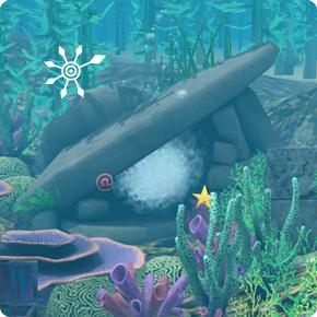 Kampf in Unterwasserhöhle