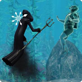 Mephisto Schauder holt sich einen ertrunkenen Taucher