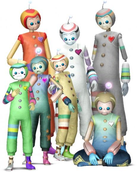 Imaginäre Freunde – Familie mit 5 Generationen