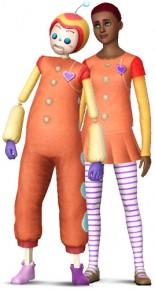 Imaginärer Freund – Spielzeugform und Simform