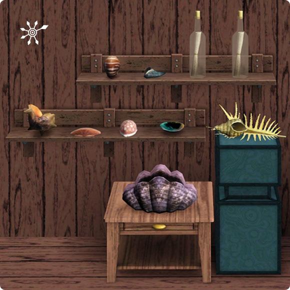 Die Sims 3 Inselparadies mit 8 neuen Muscheln und Flaschenpost