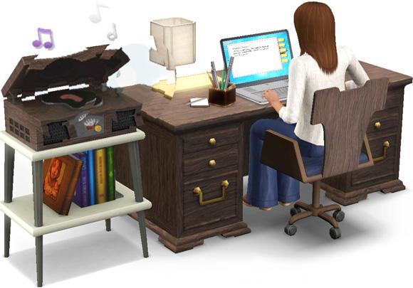 Arbeitsplatz für Schriftsteller