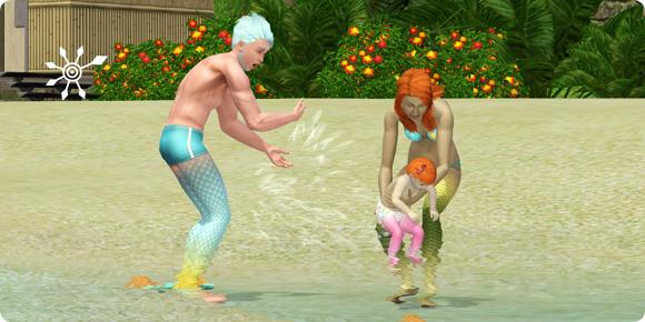 Nachwuchs bei Meerjungfrauen
