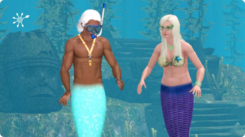 Sims 3 Meerjungfrau Werden