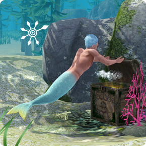 Meerjungfrauen haben das Tauchen maximiert