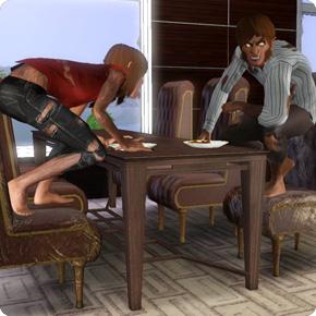 Werwölfe mit schlechten Tischmanieren