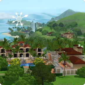 Urlaub in den Resorts des Inselparadies