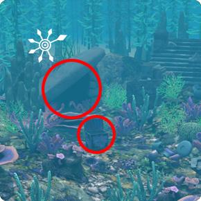 Tauchbezirk Meerjungfrauen-Grotte – Unterwasserhöhle mit Kiste Level 7