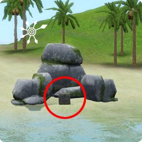 Tauchbezirk Perlengrund – Schatz auf entdeckter Insel