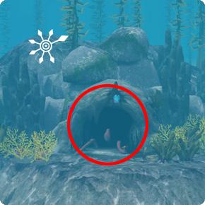 Tauchbezirk Perlengrund Unterwasserhöhle