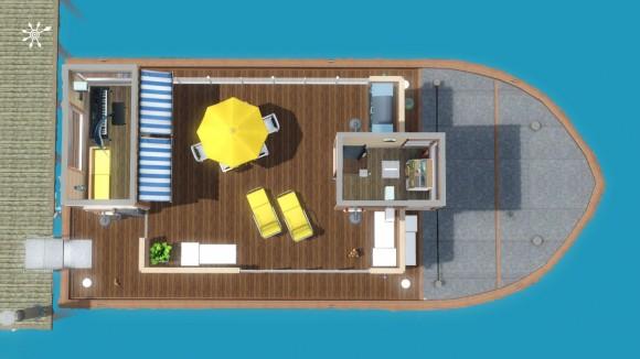 positionslichter f r hausboote simension. Black Bedroom Furniture Sets. Home Design Ideas
