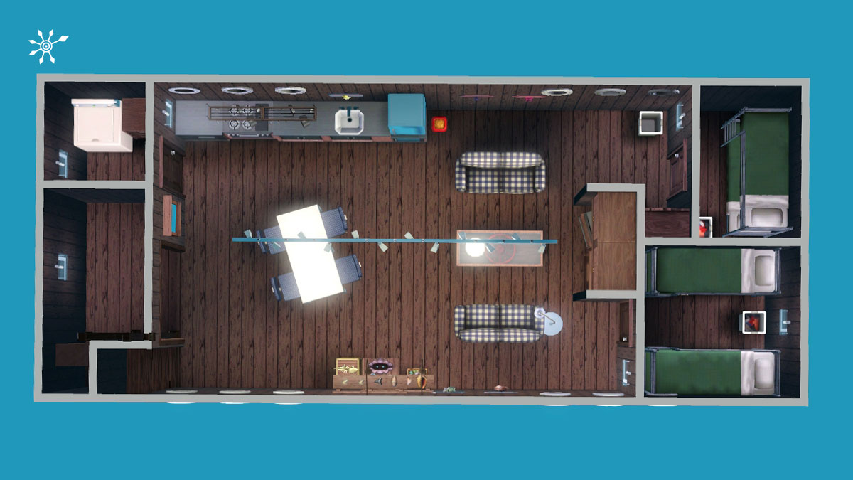 sims 3 tutorial hausboot selber bauen. Black Bedroom Furniture Sets. Home Design Ideas