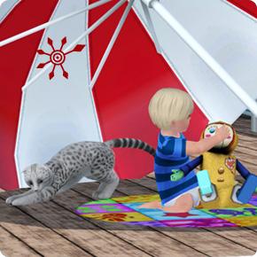 Haustiere auf Hausbooten