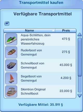 Kleinboote an Anlegeplätzen kaufen
