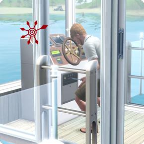 Hausboot upgraden: Nebelhorn, Motorendrehzahl, Autopilot
