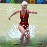 Die Sims Karriere Rettungsschwimmer – dynamisch ins Wasser laufen