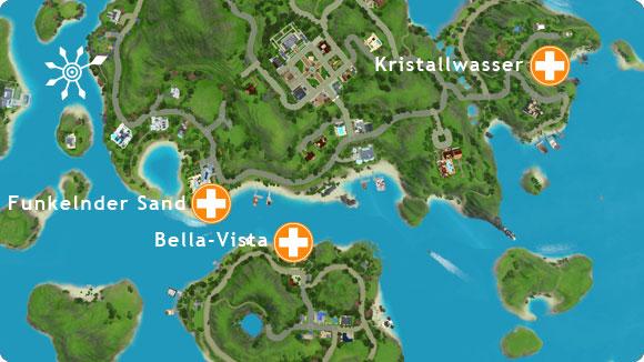 Karriere Rettungschwimmer – Strände in Isla Paradiso