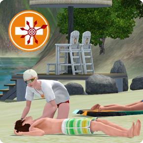 Sims 3 Wiederbelebung – Puls messen