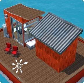 fachbegriffe der schifffahrt r ume des hausbootes simension. Black Bedroom Furniture Sets. Home Design Ideas