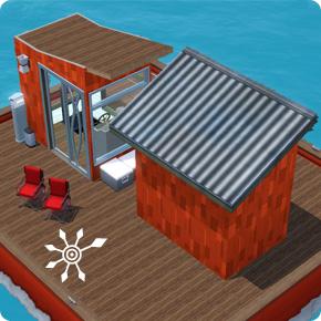 Eigene Dächer für Hausboote entwerfen