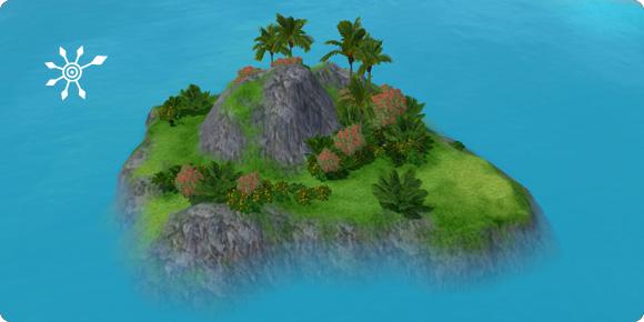 Unentdeckte Insel Beutestrand