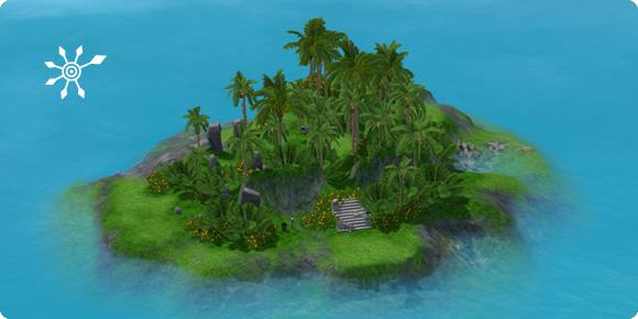 Unentdeckte Insel Diamanteninsel