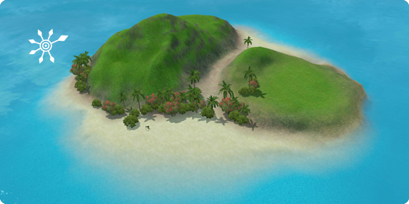 Unentdeckte Insel Niemands-Eiland