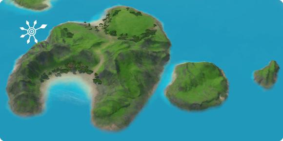 Unentdeckte Insel Sorglos-Atoll