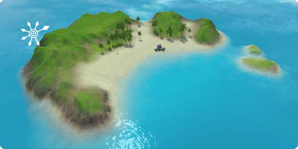 Unentdeckte Insel Taucherwinkel