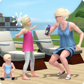 Sims 3 Moskitospray gegen Mücken